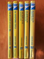 Nancy Drew Mysteries Book Bundle - Glossy Flashlight - Very Good: $3 each!