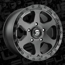 18x9 ET-12 Fuel D589 Ripper 5x127 Matte Black Rims (Set of 4)