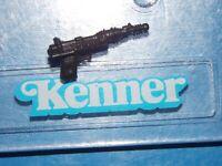 VTG 1984 1985 KENNER Star Wars A Wing Pilot Imperial Death Star Gunner BLACK gun