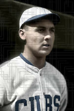 "Ralph Michaels - 1925 Chicago Cubs - 4""x6"" colorized print"