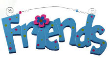 Children's Plaques and Signs in Floral Pattern