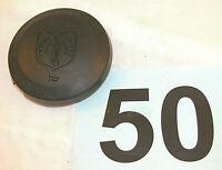 84-88 Fiero Black Round Steering Wheel Horn Button  NICE  #50
