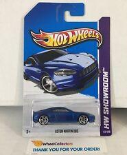 Aston Martin Dbs #153 * Blue * 2013 Hot Wheels * C8