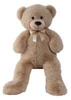 XXL Teddybär Bär 1m groß in Hellbraun Kuscheltier Teddy