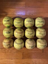 Dozen Asa Slowpitch Softballs 52/300