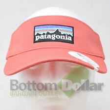 Patagonia P-6 Logo Visor Spiced Coral 38126 Adjustable Baseball Visor Hat Cap