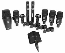 AKG Drum Set Session I (7) Microphone Kit w/Bass/Overhead/Snare/Tom+Boundary Mic