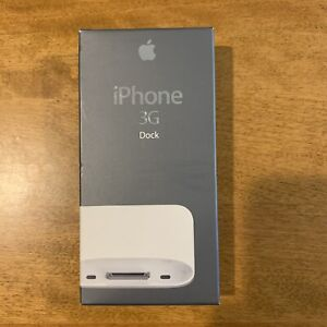 Apple iPhone 3G Dock Docking station for iPhone 3G 3GS MB484G/A Original USA.