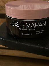 Josie Maran WHIPPED ARGAN OIL ULTRA HYDRATING BODY BUTTER 8oz Vanilla ApriCot