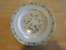 Royal Doulton MANDALAY TC1079 Set of 4 Dinner Plates Tan Blue White Floral