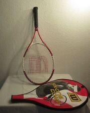 Wilson Tennisschläger mit Schlägerhülle/- box