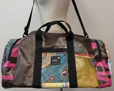 FULLER CRAFT MUSEUM BROCKTON MA CONTEMPORARY ART AMAZING RECYCLED BANNER BAG LG