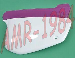 Panel Lateral Derecho Pintado Púrpura - Blanco Rx 3-5 Marchas 50Cc AP8230651