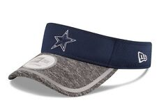 New Era Dallas Cowboys Visor Hat Cap men One Size Fit All adjustable Training