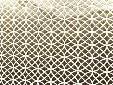 Deko Möbel Patchwork Stoffe Glitzer Glamour Vorhang Gardine 1280 in Gold Silber