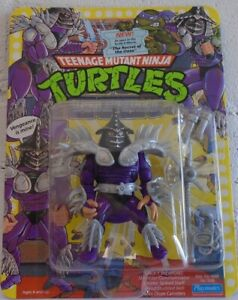 Teenage Mutant Ninja Turtles 1991 Super Shredder Secret Of Ooze Unpunched Card