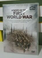 Voices of the First World War (DVD, 2014) NEW IN PLASTIC