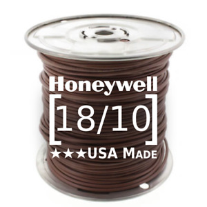 Honeywell Genesis 18/10 Thermostat Wire 250' Roll 4718 18 AWG 10 Solid Conductor