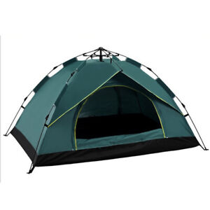 Waterproof Automatic 3-4 People Outdoor Instant PopUp Tent Camping Hiking Canopy