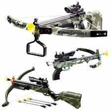 Children Infrared Crossbow Gun Set With Arrows Target Kids Play Archery Toy Gift
