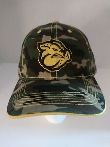 New Cammo Lehigh Valley Iron Pigs Yellow Logo SGA Promo Adjustable Hat