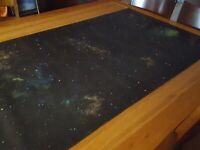 "Starfield Play mat / GripMat 36"" x 72"" Perfect for Star Wars X-Wing or Armada"
