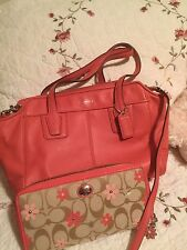 Coach Handbags And Matching Wallet