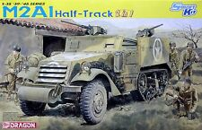 Dragon 1/35 6329 WWII US M2A1 Half-Track Armored Vehicle (2 in 1)