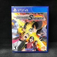 Naruto to Boruto: Shinobi Striker (Sony PlayStation 4, 2018) BRAND NEW