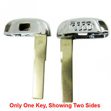 New Smart Key Replacement Uncut Emergency Blade Blank Key For Audi