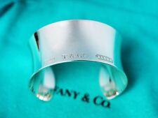 Tiffany & Co Plata Esterlina 1837 Brazalete Pulsera Brazalete Medio Rrp £ 880