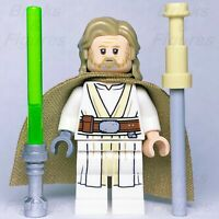 Star Wars LEGO® Luke Skywalker Old Jedi Master with Lightsaber Minifig 75200