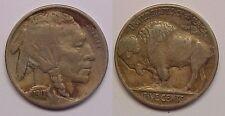1917 D Buffalo Nickel Very Fine VF