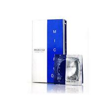 New MICRO 002 _ Made in Korea Lubricated Super Ultra Thin 0.02mm Condoms 1box 8p
