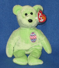 TY EGGS 2007 the BEAR BEANIE BABY - MINT with MINT TAGS