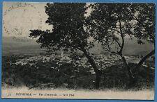 CPA MAROC: NEDROMA - Vue d'ensemble / 1910