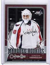 SIMEON VARLAMOV 08/09 OPC O-Pee-Chee Update #800 Rookie Hockey Card