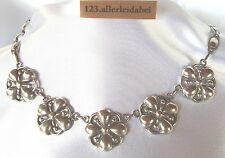 Theodor Fahrner Collier Kette 925 Silber Collierkette old silver necklace /KK101