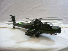 "Helikopter - Dekomodell "" AH640 "" Metall Handarbeit viele Details Hubschrauber"