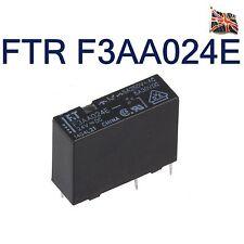 FTR-F3AA024E power PCB relay 24V DC 5A 2880R SPST-NO Fujitsu