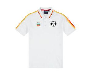 Sergio Tacchini Carter MC Staff Polo Wht/Navy Rolex Men's Shirt STM038116-105S