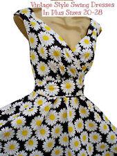 Damenkleider mit V-Ausschnitt aus Baumwolle für Business-Anlässe