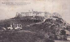 MONTE CASTELLO VIBIO: Panorama sud - stazione ferroviaria sulla centrale Umbra