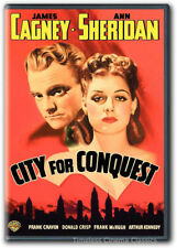 City for Conquest DVD New James Cagney, Ann Sheridan, Frank Craven