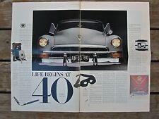1988 Cadillac 75th Anniversary Magazine