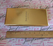 """NEW Juicy Couture Box Gift Storage Jewelry Gold 7"""" x 3"""""""