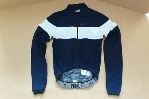 Mens Pedal Ed Long Sleeve Cycling Jacket Size Small