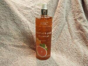 Sbc Grapefruit & ginger skincare gel 500ml new Qvc