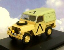 Oxford Diecast 1/43 Land Rover 1/2 Tonelada Ligero Golfo Guerra Desierto Arena