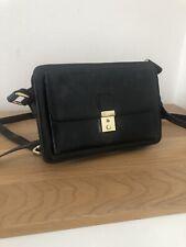 Deena & Ozzy @ Urban Outfitters Black Mini Satchel Handbag Faux Leather